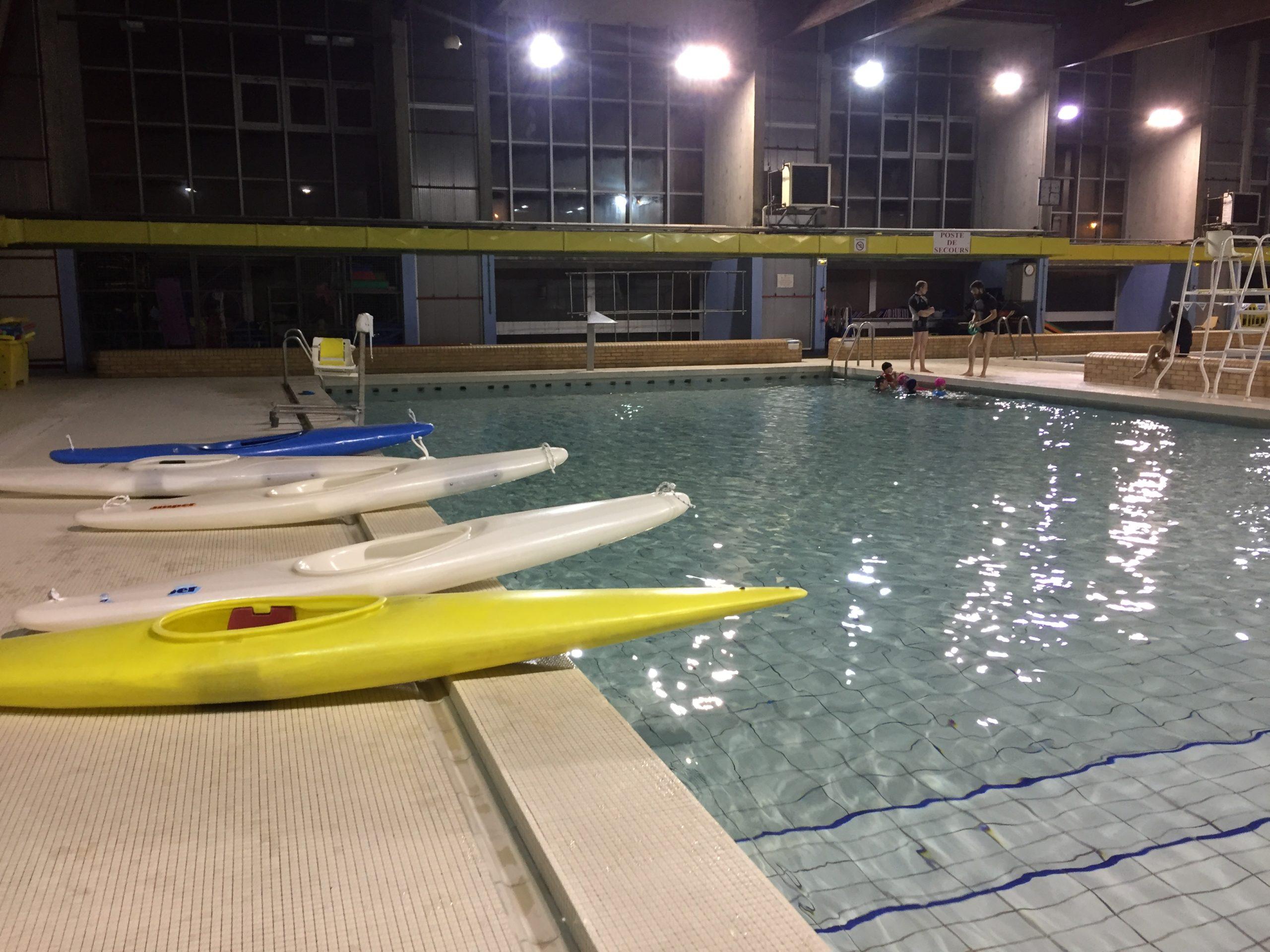 Entrainements piscine