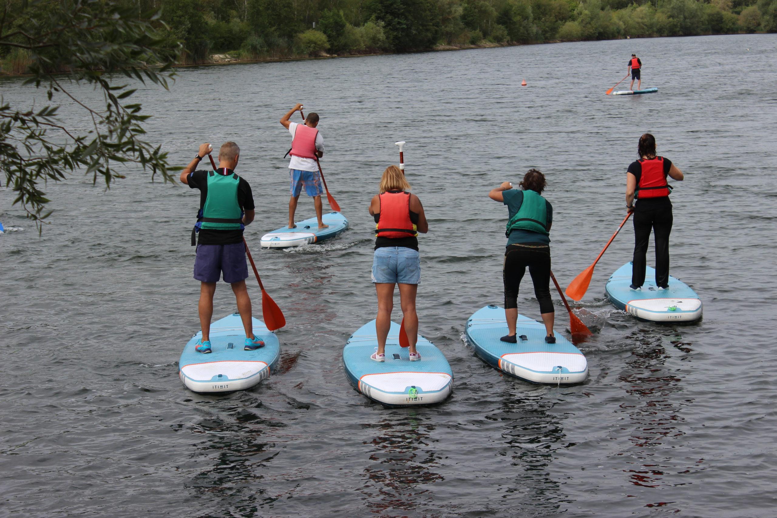 Meaux en pleine forme – Initiation paddle